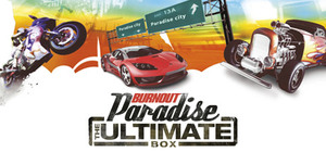 Cover art of Burnout Paradise: The Ultimate Box - PC