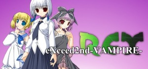 Cover art of eXceed 2nd - Vampire REX - PC