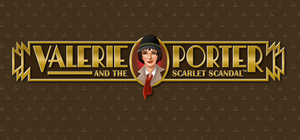 Cover art of Valerie Porter and the Scarlet Scandal™ - PC