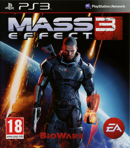 Cover art of Mass Effect 3 - Sony PS3