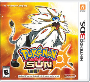 Cover art of Pokémon Sun - Nintendo 3DS
