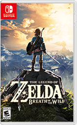Cover art of The Legend of Zelda: Breath of the Wild - Nintendo Switch