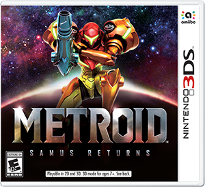 Cover art of Metroid: Samus Returns - Nintendo 3DS