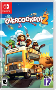 Cover art of Overcooked! 2 - Nintendo Switch